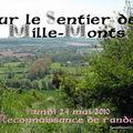 SENTIER DES MILLE MONTS