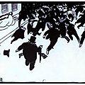 La manifestation_Gravure sur bois_Felix Valloton 1893