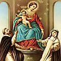 Le pape invoque la vierge de pompéi