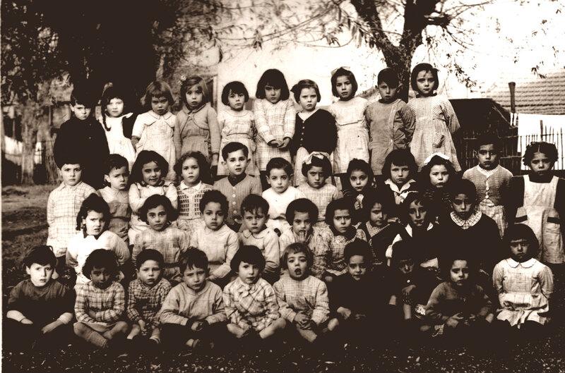 maternelles Marcel Sembat novembres 1952