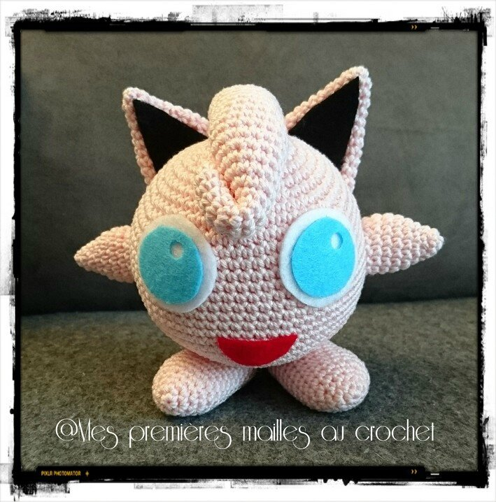 Tutorial Jigglypuff Amigurumi - YouTube | 718x709