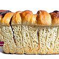..la boulange du week-end : pull apart cake chocolat et pistache..
