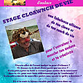 Stage cloawnch de vie / clown et coaching de vie