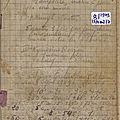 Les comptes de ma mère suzanne lesquoy: carnet n°8, du 13 avril au 2 juillet 1949