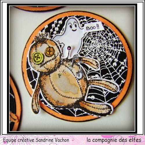Sandrine VACHON ATC rondes HALLOWEEN dt LCDE (3)