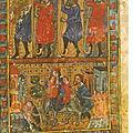 Retour de Moïse en Egypte - XIVème siècle - Catalogne