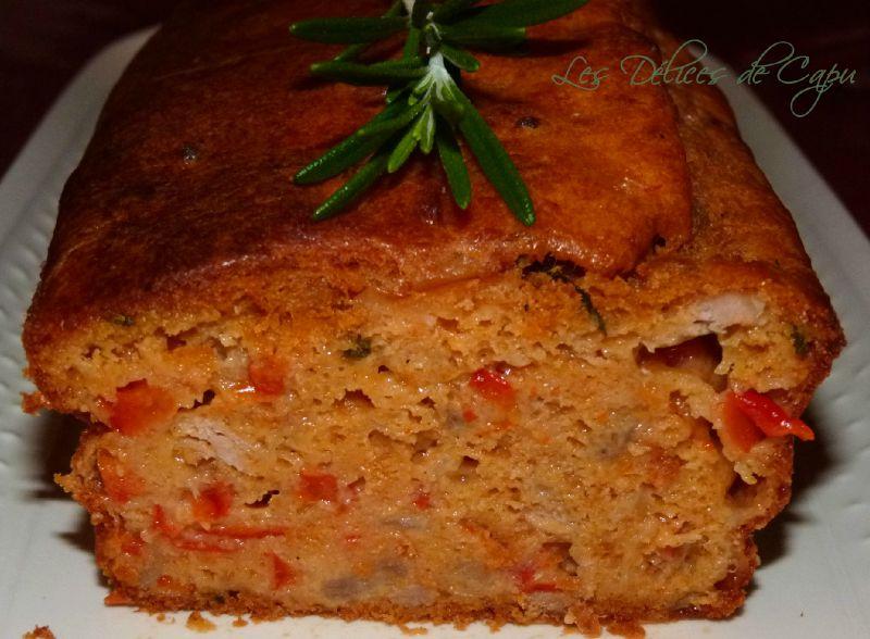 Cake méditerranéen