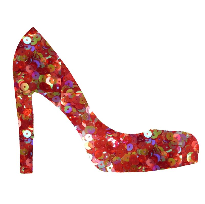 chaussure-sequins