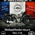 Bourse pièces moto à roeselare 4 et 5 novembre 2017