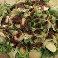 Salade de choux de bruxelles