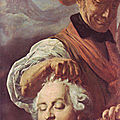 Charles-Henri Sanson tenant la tete du tyran louis 16