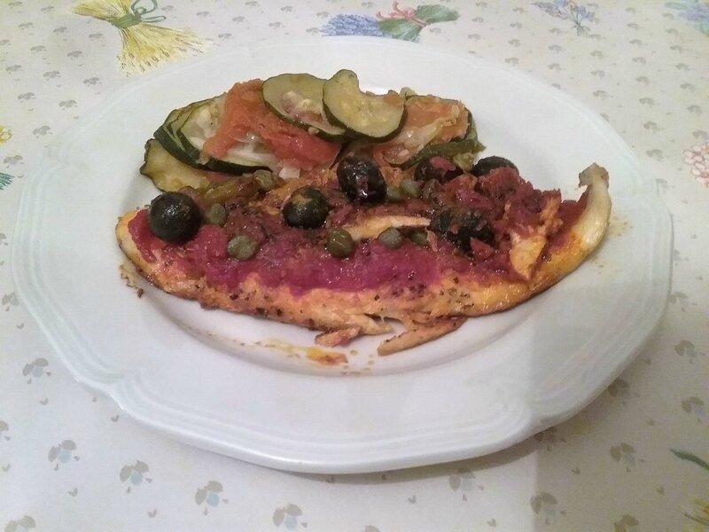 Filets de panga à la provençale et légumes du soleil