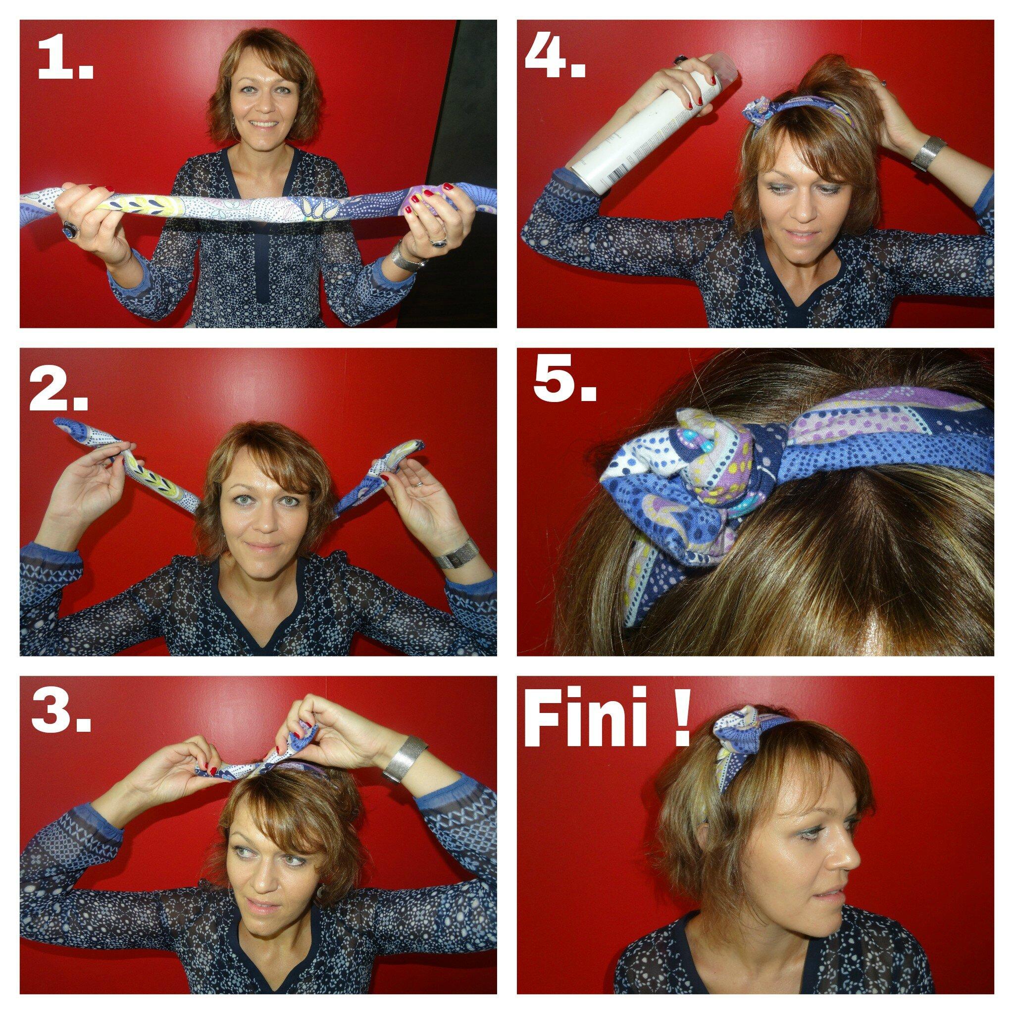 tuto spécial cheveux court - l'atelier des filles