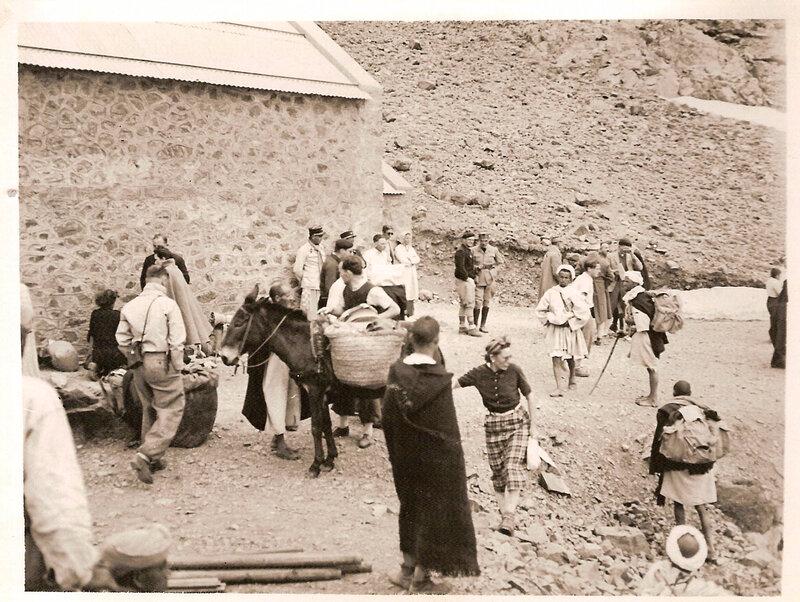 28 Mai 1939 Inaugurationrefuge Toubkal Nelter 001