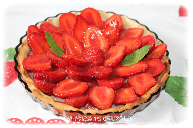 Tarte aux fraises 6