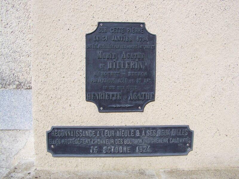Plaques du Boistissandeau
