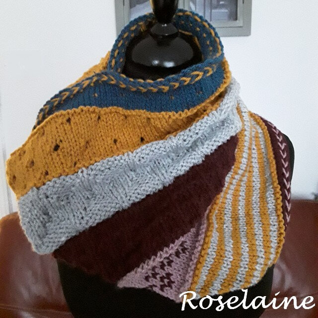Roselaine GAME CHANGER COWL by Marly Bird 1