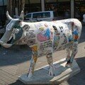 la Cow Parade, aussi à Istanbul