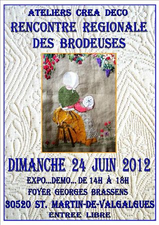 Affiche Brodeuses 2012