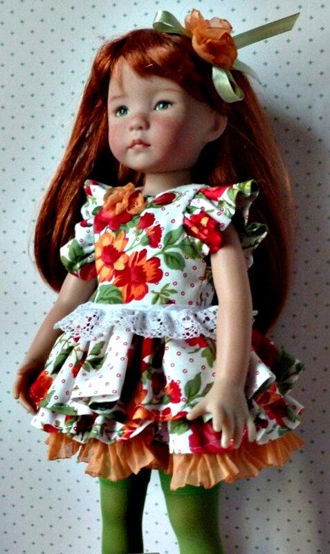 laurie2 chez Vanina habillée par Violette
