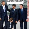 Sommet du g8 : n. sarkozy affirme sa fermeté face à la presse