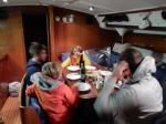 Dîner en route pour Vodice à bord de l'Alma 3 160217 1