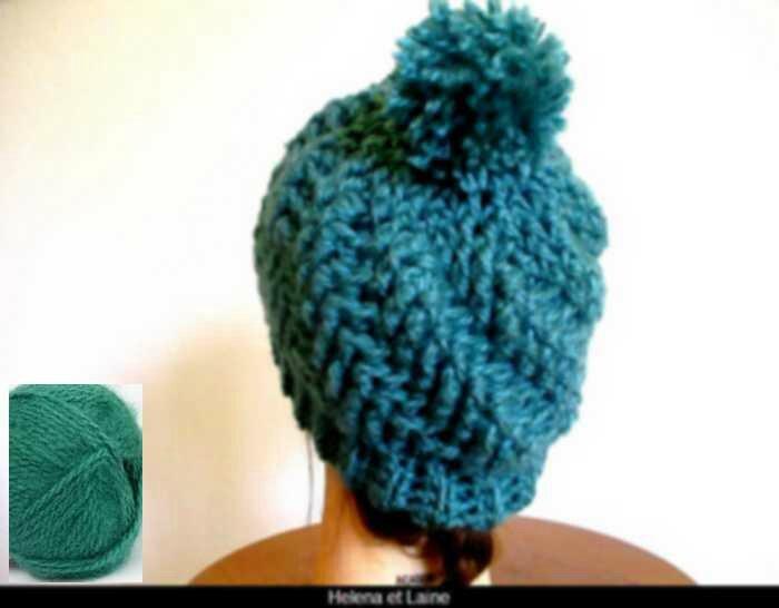 bonnet vert canard relief2