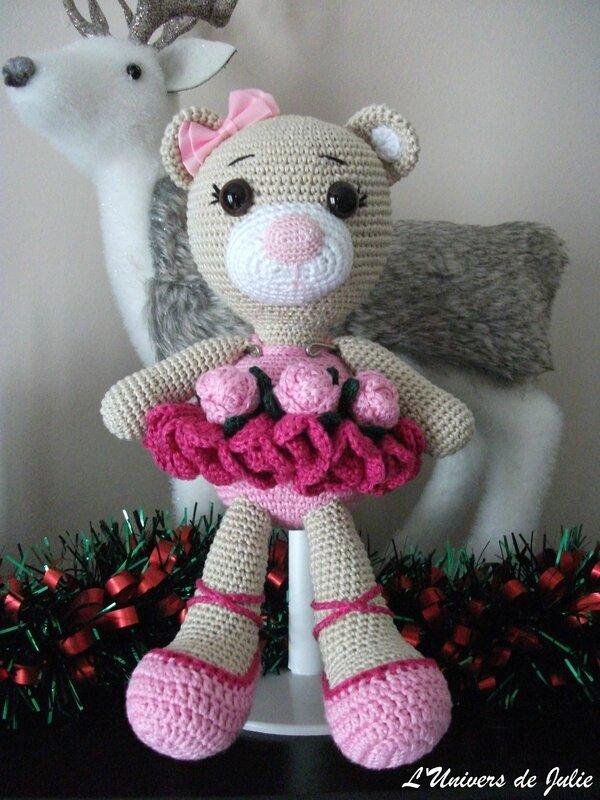 Bibi the Ballerina Bear Ours Ballerine SmartApple Creations L'univers de Julie