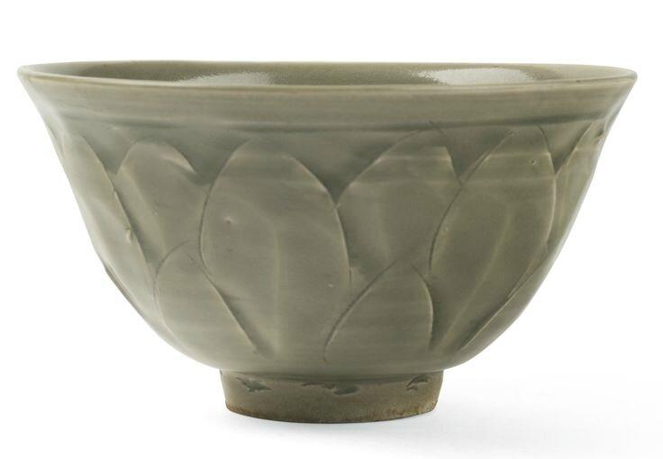 A 'Yaozhou' celadon bowl, Song dynasty
