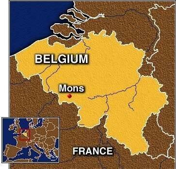 Carte Belgique Mons.Carte De Mons Belgique Photo De Mons Ma Ville Mon