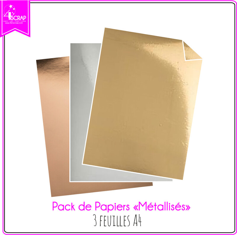 PackPapiersMétallisés