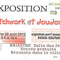Atelier patch-dour et association patch-couture briastre