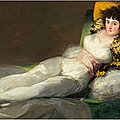 Rarely displayed paintings by goya on view at fondation beyeler