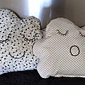 Duo coussins cocooning