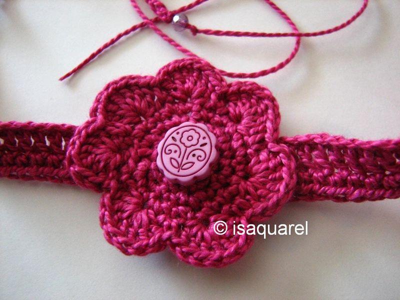 bracelet fleur pour çoise...