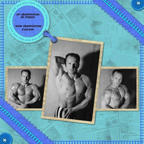 Kit grand bleu creascrapbook