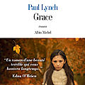 Grace, de paul lynch
