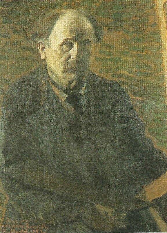 Images d'Eugène Martel par son ami Maxime Girieud.