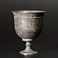 Coupe sur pied, chine, dynastie des tang, 7°-9° siècles