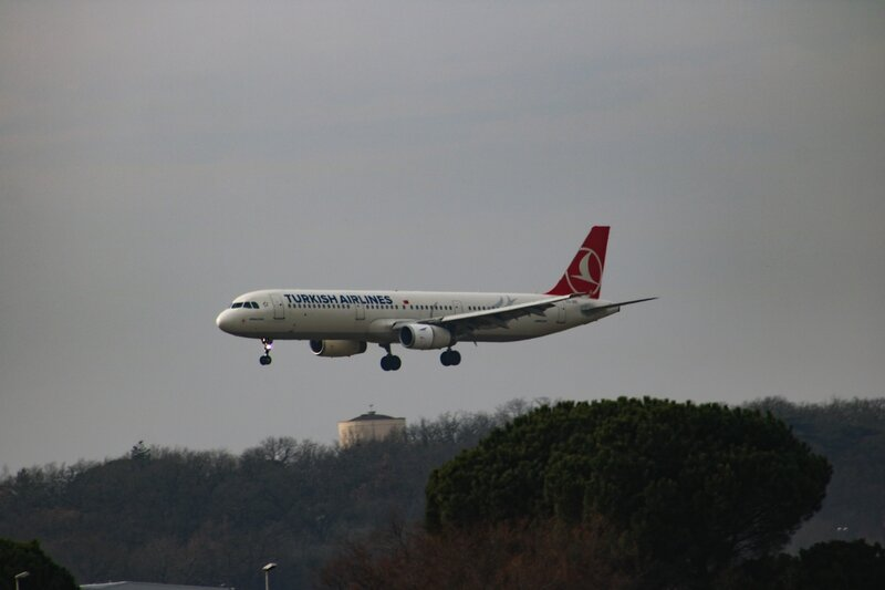 Airbus A321 de Turkish Airlines