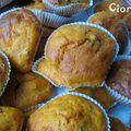 Muffins salés tomate et parmesan