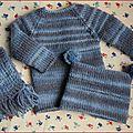 Tuto : le pull bleu de savannah