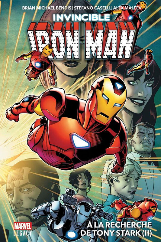 marvel legacy invincible iron man 02 à la recherche de tony stark 2