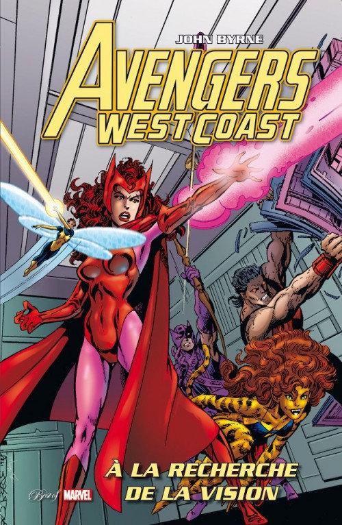 best of marvel avengers west coast à la recherche de la vision