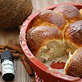 ✿ pani popo ✿ brioche au lait de coco version noël, à la cannelle! {pain des îles samoa} sans lactose, sans oeufs & sans plv !