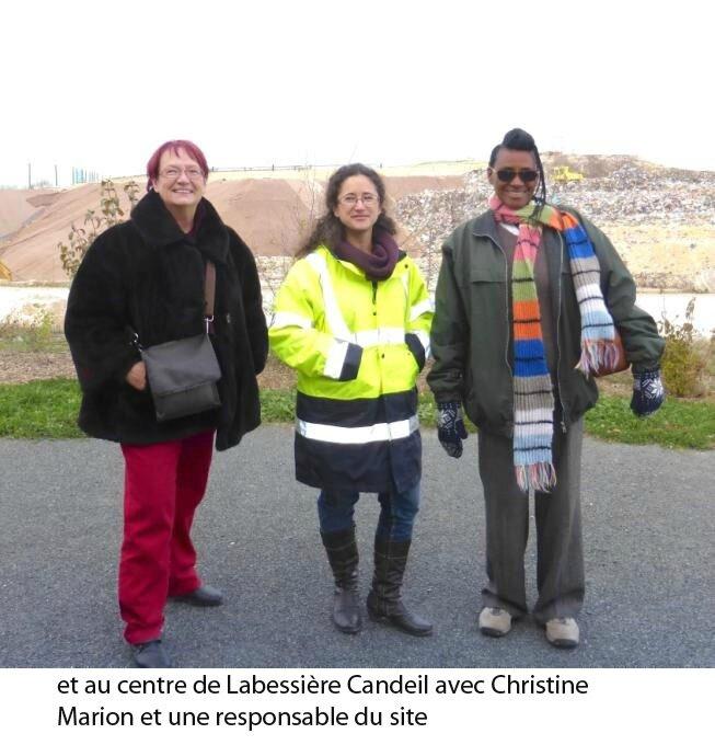 et au centre de Labessière Candeil avec Christine