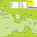 Des plans de communes: arraye et han (f-54760)