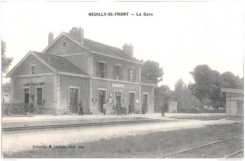 neuilly st front gare nord