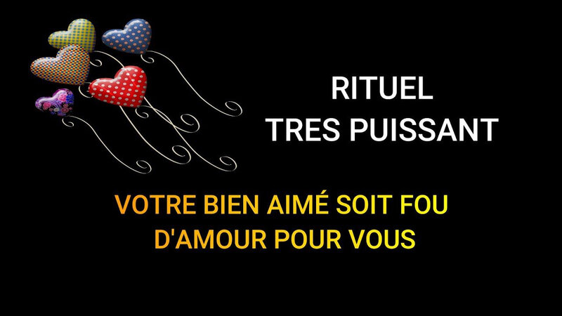 RITUEL AMOUR MAGIE