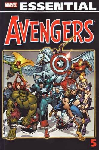 essential avengers vol 5 TP 2nd print